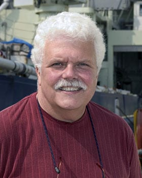 Terrence Joyce (Photo by Tom Kleindinst, Woods Hole Oceanographic Institution)