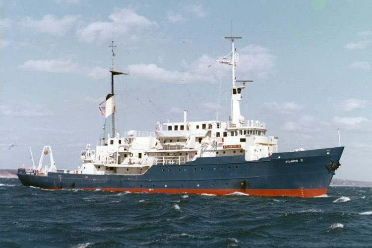 The Research Vessel Atlantis II