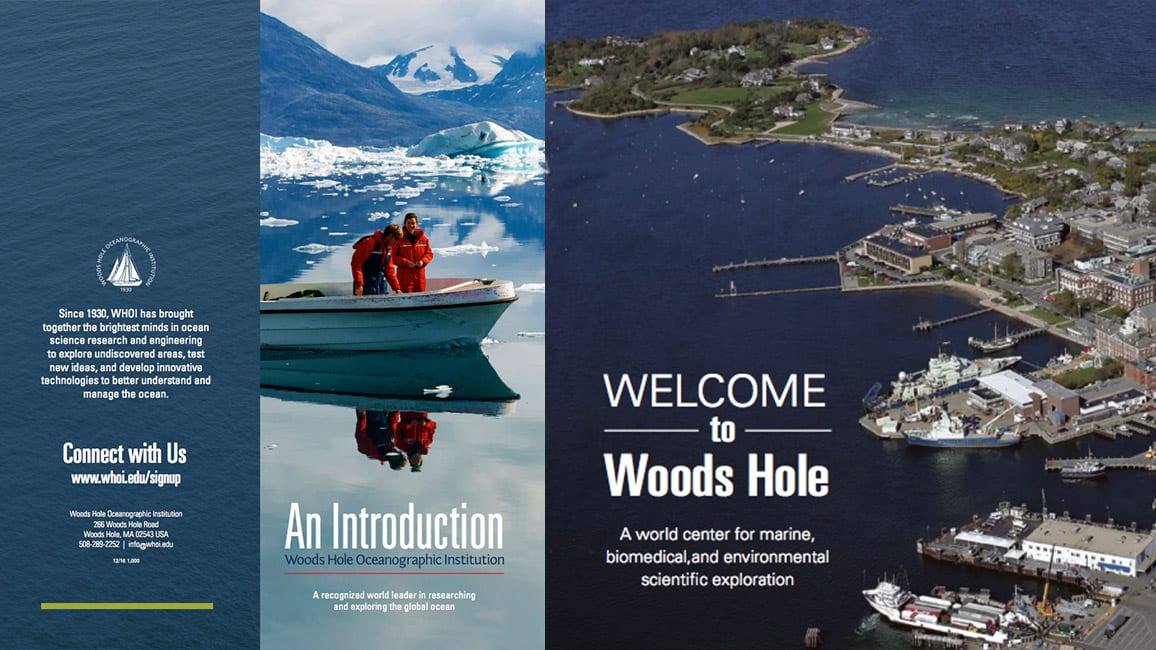 WHOI brochures download