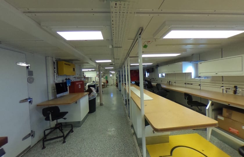 main lab