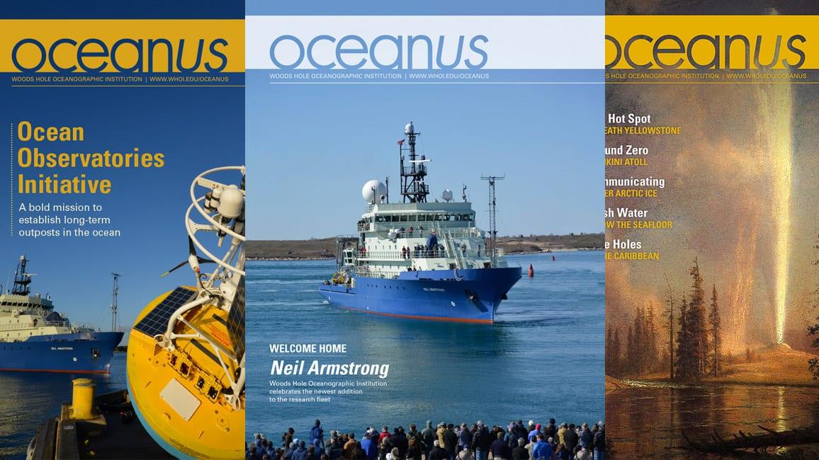 Oceanus magazine - WHOI