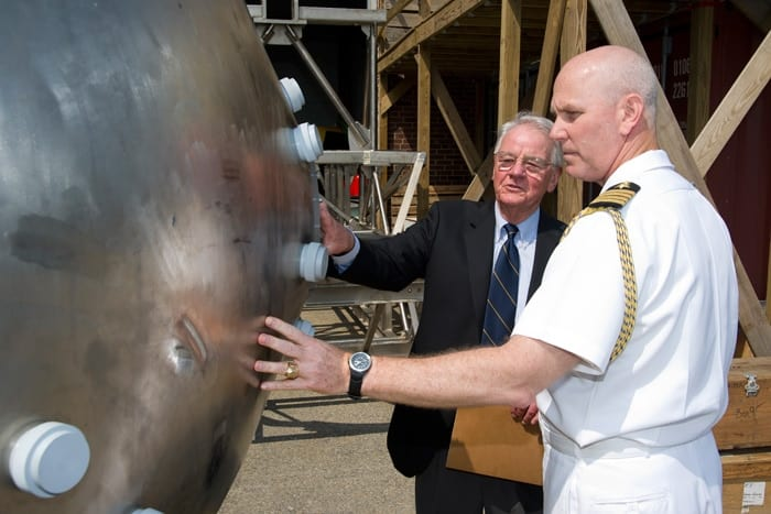 Visit rrom Chief of Naval operations Admiral Gary Roughead