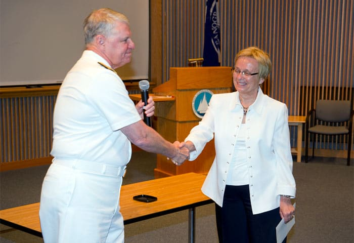 Visit fro Chief of Naval Operations Admiral Gary Roughead
