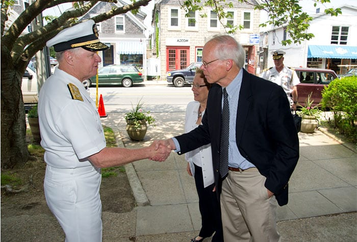 Visit from Chief of Admiral Gary Roughead