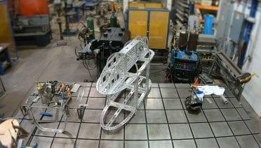 Assembling of Mesobot Frame
