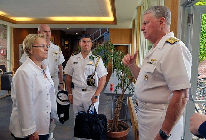 Visit from Chief of Naval Operations Admiral Gary Roughead