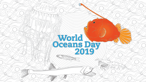 World Oceans Day Coloring page