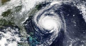 NASA image - hurricane Florence