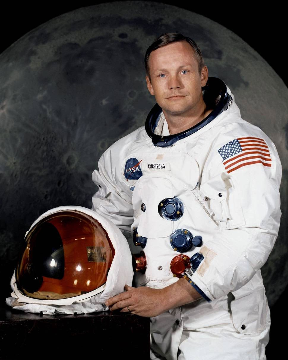 Astronaut Neil A. Armstrong made history on July 20, 1969 by becoming the first person to step on the moon. (Image credit: NASA)