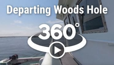 Departing Woods Hole