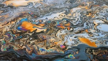 There's an oil spill every day off the coast of Santa Barbara, Calif., where oil is seeping naturally from cracks in the seafloor into the ocean. Lighter than seawater, the oil floats to the surface. Some 20 to 25 tons of oil are emitted each day. (Photo by...)