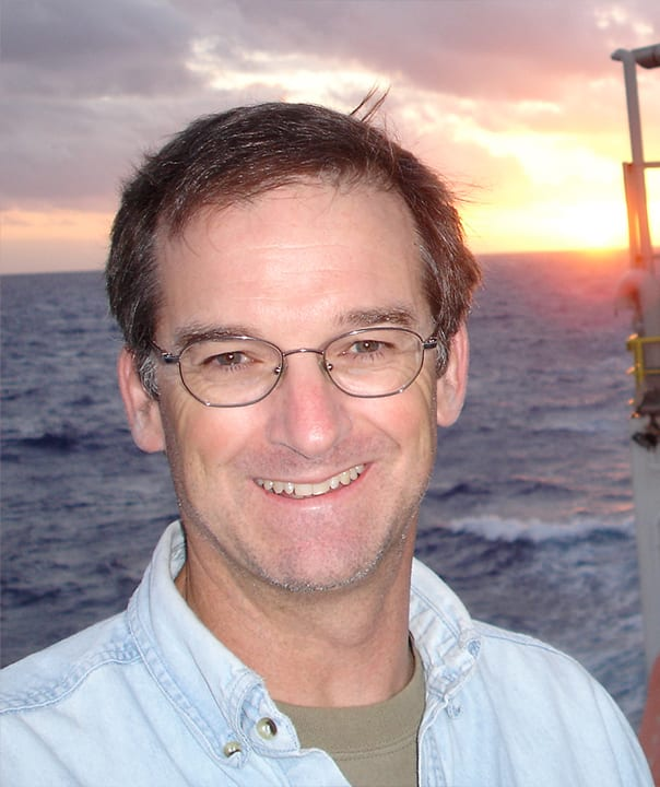 Rick Murray, Deputy Director and Vice President for Research at Woods Hole Oceanographic Institution