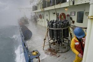 CTD heavy seas