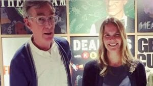 Julie Huber and Bill Nye Science Guy