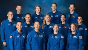 A new class of astronauts will graduate basic training on Jan. 10, 2020. They will join the active astronaut corps, beginning careers in exploration that may take them to the International Space Station, on missions to the Moon under the Artemis program, or someday, Mars. The 2017 class includes (top row) Matthew Dominick of NASA, Kayla Barron of NASA, Warren Hoburg of NASA, and Joshua Kutryk of CSA, (middle row) Bob Hines of NASA, Frank Rubio of NASA, Jennifer Sidey-Gibbons of CSA, Jasmin Moghbeli of NASA, and Jessica Watkins of NASA, (bottom row) Raja Chari of NASA, Jonny Kim of NASA, Zena Cardman of NASA, and Loral O'Hara of NASA. (Photo courtesy of © NASA)