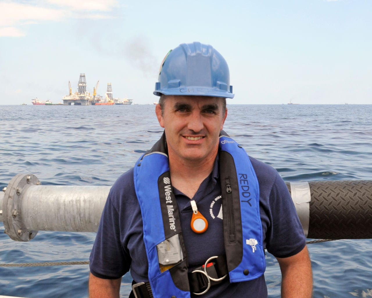 Dr. Chris Reddy,  WHOI Senior Scientist  and Marine Chemist