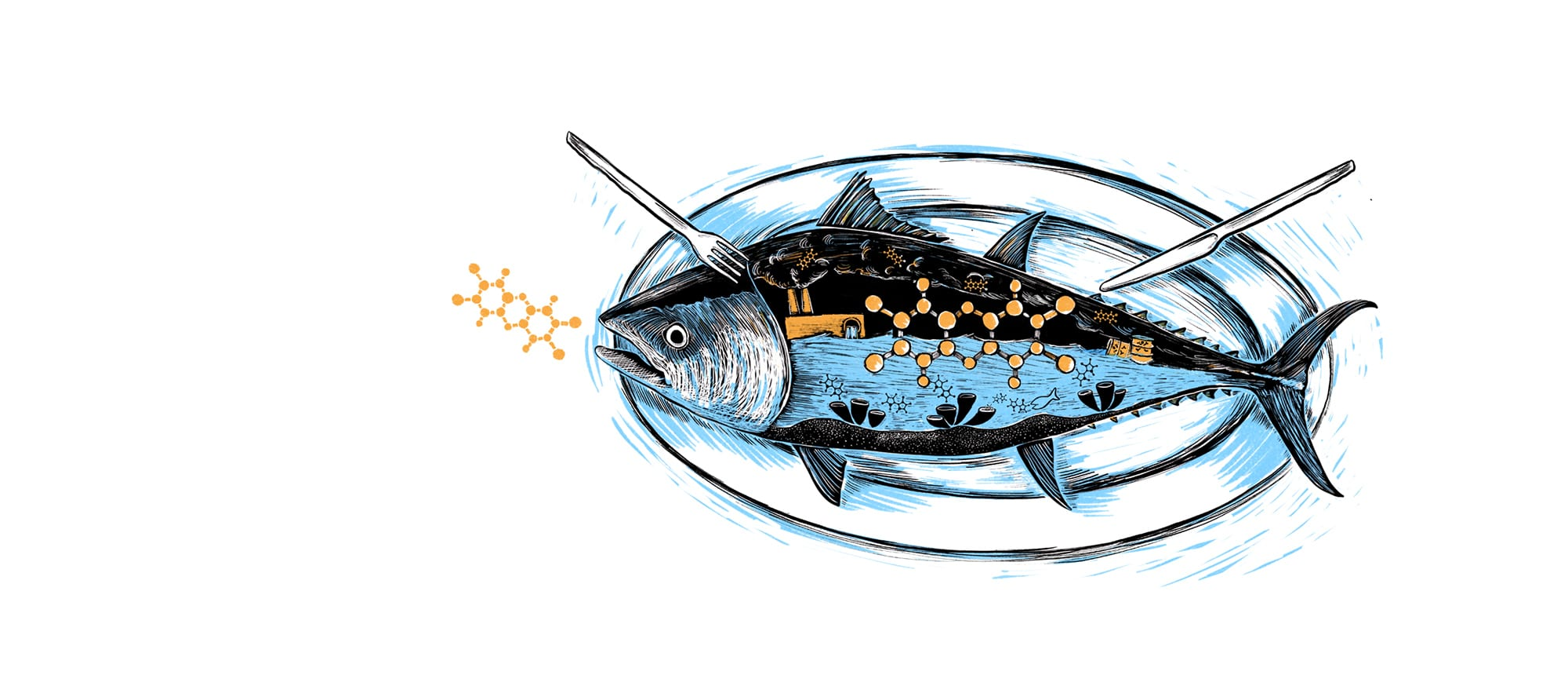 Fish with toxins