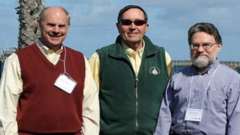 WHOI researchers John Stegeman, Don Anderson and Mark Hahn. (