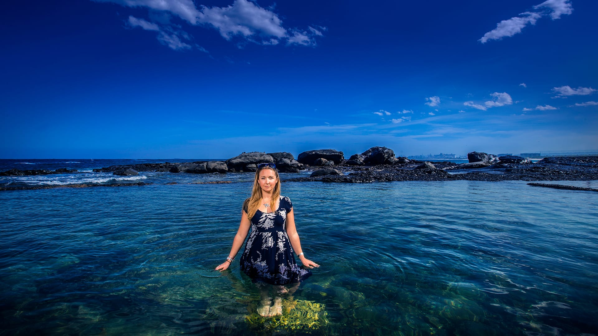 Harriet Harden-Davies has spent more than 10 years in the marine policy arena, participating in crucial negotiations with United Nations members  (Photo by Paul Jones © the University of Wollongong in Australia)